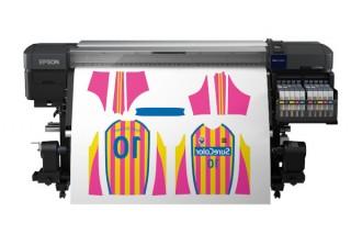 エプソンが蛍光イエローと蛍光ピンクも使える6色インク搭載の昇華転写プリンタ「SC-F9450H」を12月発売