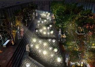 あべのハルカスの毎年恒例の冬季イベント「天空のイルミネーション2019」
