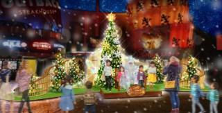 音と光を楽しめるイクスピアリのクリスマスイベント「サウンドフォレスト・クリスマス」