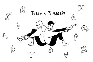 イラストレーター・長場雄さんとタビオがコラボ!いろいろな組み合わせが楽しめるアルファベット入り靴下
