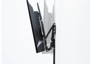 大型のテレビ・ディスプレイを壁に設置するための「角度調節可能壁掛け金具」発売