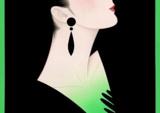ノエビアの広告の仕事などで広く知られる現代の美人画の巨匠・鶴田一郎氏の個展が開催