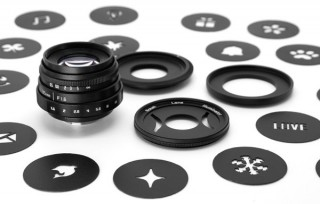 ギズモン、面白い形の光のボケを作れるミラーレスカメラ向けのレンズキットを発売
