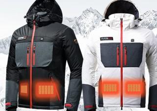 Gloture、モバイルバッテリーで発熱するHumbgo XG ヒートジャケットを発売