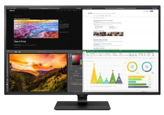 LG、ノングレアIPSパネルを採用したHDR対応の42.5型ディスプレイを発売