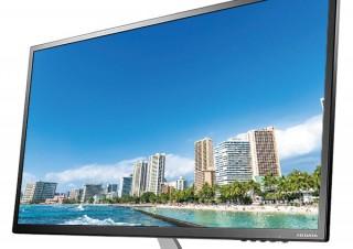 アイ・オー、WQHD解像度に対応する31.5型ワイド液晶ディスプレイ「LCD-MQ322XDB」を発売