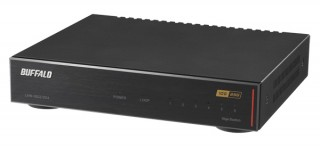 バッファロー、10G光インターネットサービスに対応したスイッチングハブを発売