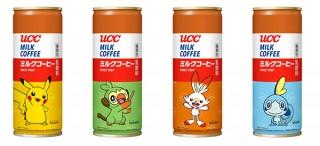 「ポケットモンスター」をデザインした「UCC ミルクコーヒーポケモン缶」が数量限定で登場!