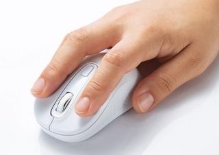 サンワサプライ、手に馴染むフォルムのブルーLEDセンサー搭載マウス発売