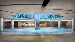 リニューアルオープンするWhityうめだの泉の広場にネイキッドが制作した「Water Tree」が登場