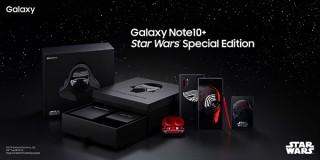 Galaxy Note10+、スター・ウォーズ最新作公開記念のダークサイドモデルを限定販売