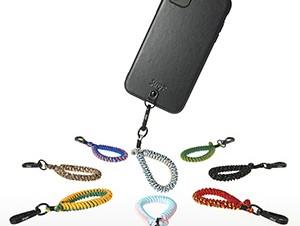 ハクバ、カラフルなフィンガーストラップが付いたiPhone11用ケースを発売