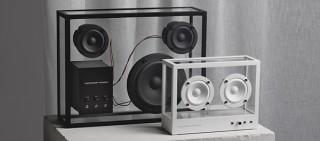ネイビーズ、サステイナブルデザインの透明なスピーカーTRANSPARENT SPEAKERを発売