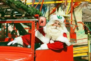 角田明子氏が撮影したサンタクロースたちの写真を鑑賞できる展覧会「サンタさんが いっぱい」