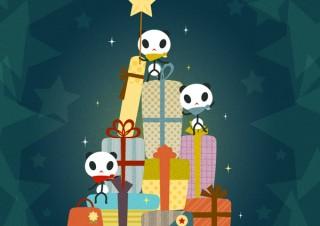 人気イラストレーター あさひな。さんが描くとびきり可愛いクリスマスアートパネル販売開始