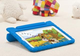 サンワサプライ、子ども向けにも適したiPad用の衝撃吸収ケース「PDA-IPAD1605」を発売