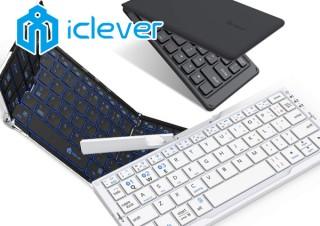 折りたたみキーボードのiCleverが年末年始セールを開始