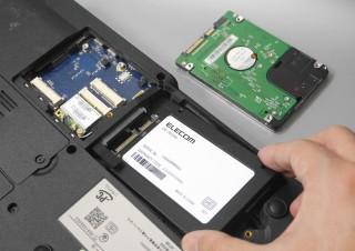Windows 7→10への移行にも最適、古いノートPCを爆速化するSSD換装キット