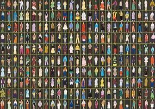シェル美術賞2019のオーディエンス賞が378人の多彩な装いを描いた「今日の装い」に決定