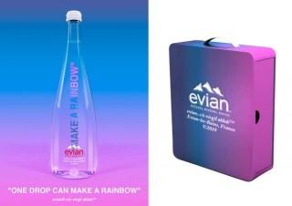 虹をイメージした「エビアン® スペシャルボックス ヴァージル アブロー」アジア限定で発売