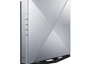 NECプラットフォームズ、Wi-Fi 6対応のルーター2製品を発売