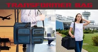 システムクリエイツ、3種類のサイズに変形して使えるトランスフォーマーバッグを発売