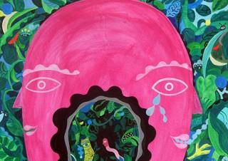 日本とメキシコを拠点に活動する美術家の岡⽥杏⾥氏の個展「El yo y el Yo」