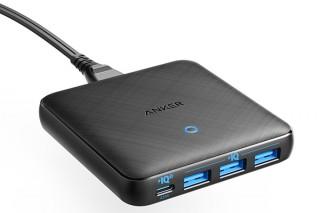 Anker、卓上式のUSB急速充電器「Anker PowerPort Atom lll Slim(Four Ports)」を発売