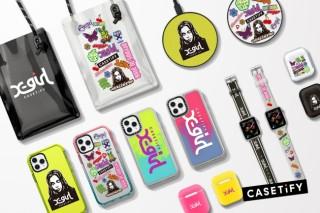 「X-girl」と「CASETiFY」のコラボ商品が1月31日(金)発売!iPhoneケースやAirPodsケースも