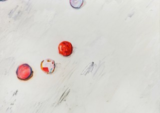 茨城県の共同アトリエで作品を制作している3名のアーティストのグループ展「Anthropocene」