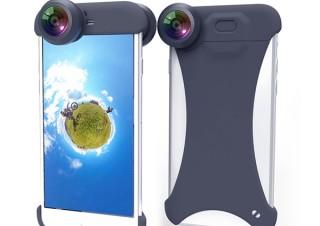 スペックコンピュータ、iPhone用の全周囲撮影レンズ「ぐるっ撮360°」を発売