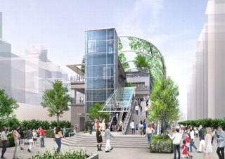 渋谷・宮下公園、南北街区を一体化して公園・商業施設・ホテルからなる複合施設へ