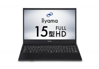 iiyama PC、第10世代インテルCore i3プロセッサーを搭載した15.6型ノートを発売