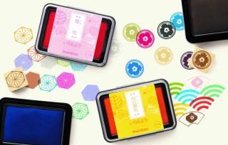 日本の伝統色から選定した24色が華やか!繊細な模様もキレイに押せるスタンプパッド「いろもよう」発売