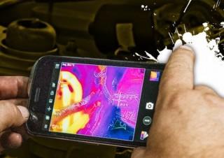 ショベルカーなどで知られる米CATのタフネススマホ「S61」、熱可視化カメラも搭載
