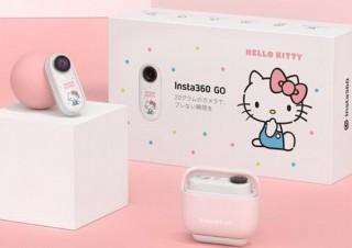 ハローキティが親指サイズの小型軽量アクションカメラInsta360 GOに、特別版が発売