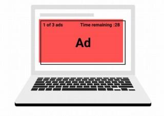 動画を視聴中に表示されたりスキップ不可の煩わしい動画広告、Chromeが8月に規制実施
