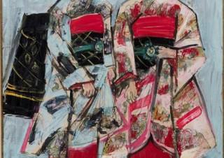 """司馬遼太郎の""""街道をゆく""""の挿絵原画でも知られる須田剋太の没後30年を記念した特別展が開催"""