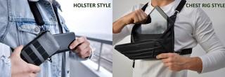 きびだんご、個性的なデザインのホルスター型バッグ「Phonster Z」を発売