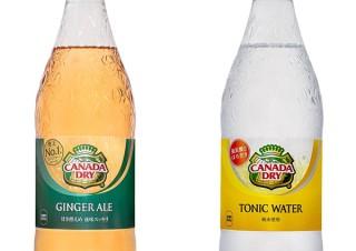 日本コカ・コーラ、「カナダドライ」ブランドのジンジャーエールなどのデザインを刷新