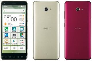 UQ mobile、5.6インチの縦長有機ELディスプレイを搭載したスマホ「BASIO4」を発売