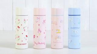 サンリオ、ハローキティなどを描いたマグボトルの春色デザインを発表