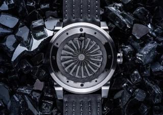 プリンチペプリヴェ、タービン型秒針の腕時計より隕石に影響を受けたデザインの新モデルを発売