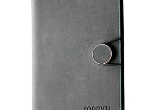 Gloture、8000mAhモバイルバッテリー内蔵のシステム手帳moovy Power Bookを発売