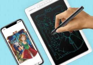 描いたイラストがリアルタイムでスマホに表示される電子タブレット「DigiNote」
