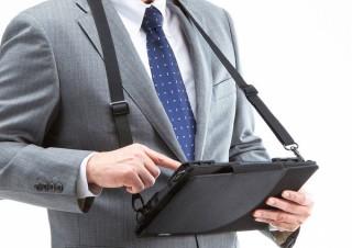 サンワサプライ、ショルダーベルト付きの汎用タブレットケース「PDA-TAB4N」を発売