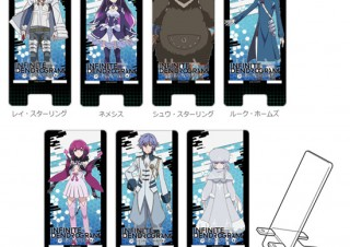 ハクバ、アニメ「インフィニット・デンドログラム」のキャラを印刷したスマホスタンドを発売