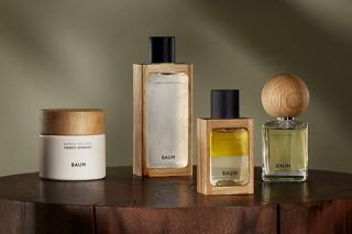 カリモクとコラボして、パッケージにアップサイクル木材を採用した新ブランド「BAUM(バウム)」