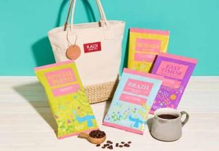 カルディ、4種のコーヒーをバッグにまとめた「春のコーヒーバッグ」を発表