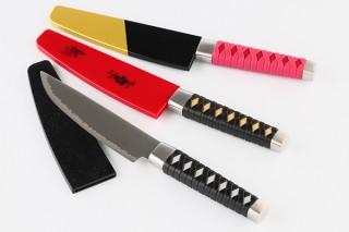 ニッケン刃物、幕末志士や人気武将の名刀を再現した日本刀型の包丁3モデルを一般発売